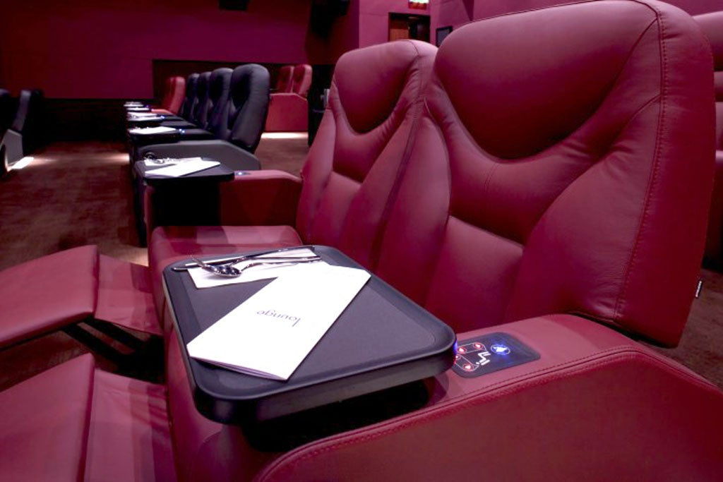 The Lounge  Odeon Whiteleys  Queensway  London W    The Independent