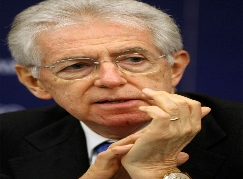 New figures show Italy's PM, Mario Monti, earned more than €1.5m in 2010 and is worth more than €11