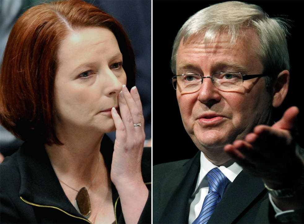 Prime Minister Julia Gillard and her foreign minister, Kevin Rudd, were once a 'dream team'