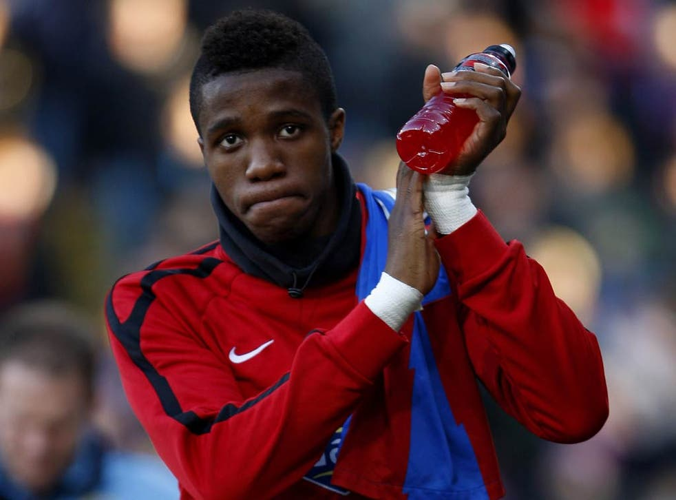 Wilfried Zaha receives his first call-up