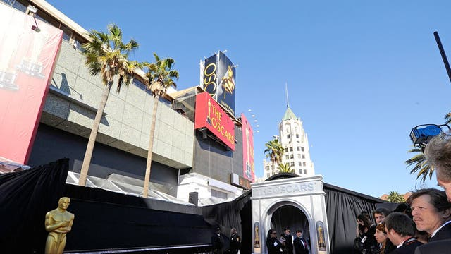 Roll out the red carpet: The Kodak Theatre