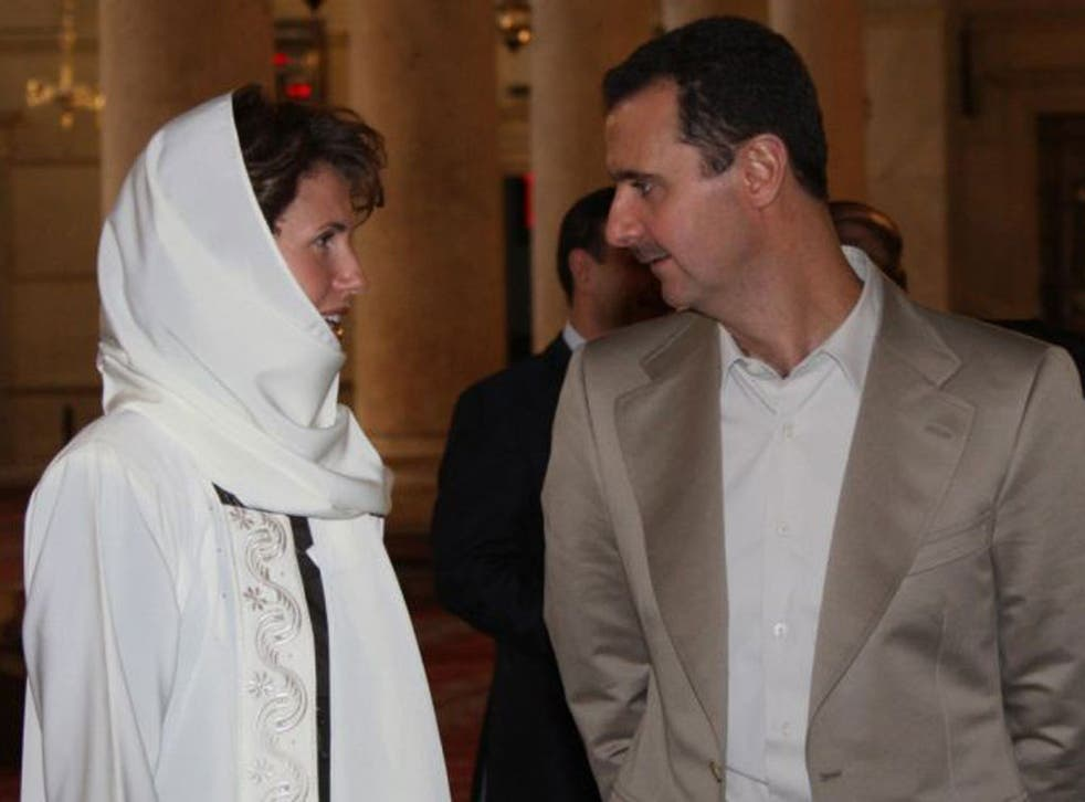 Syria's leader Bashar al-Assad and his wife Asma provoking anger but not action