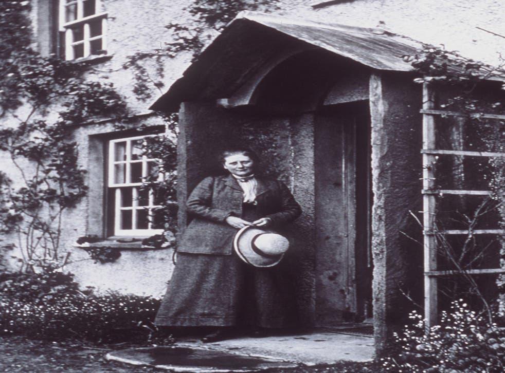 Author Beatrix Potter