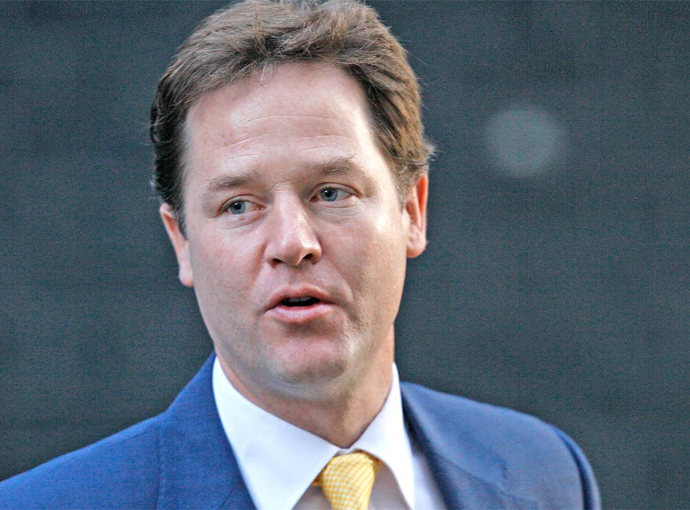 The Lib Dem leader has said the Lords shakeup is 'a clear ambition' for the Government