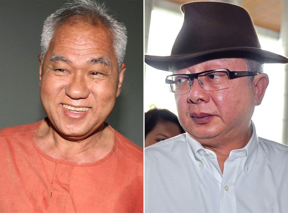 Surachai Danwattananusorn and Sondhi Limthongkul