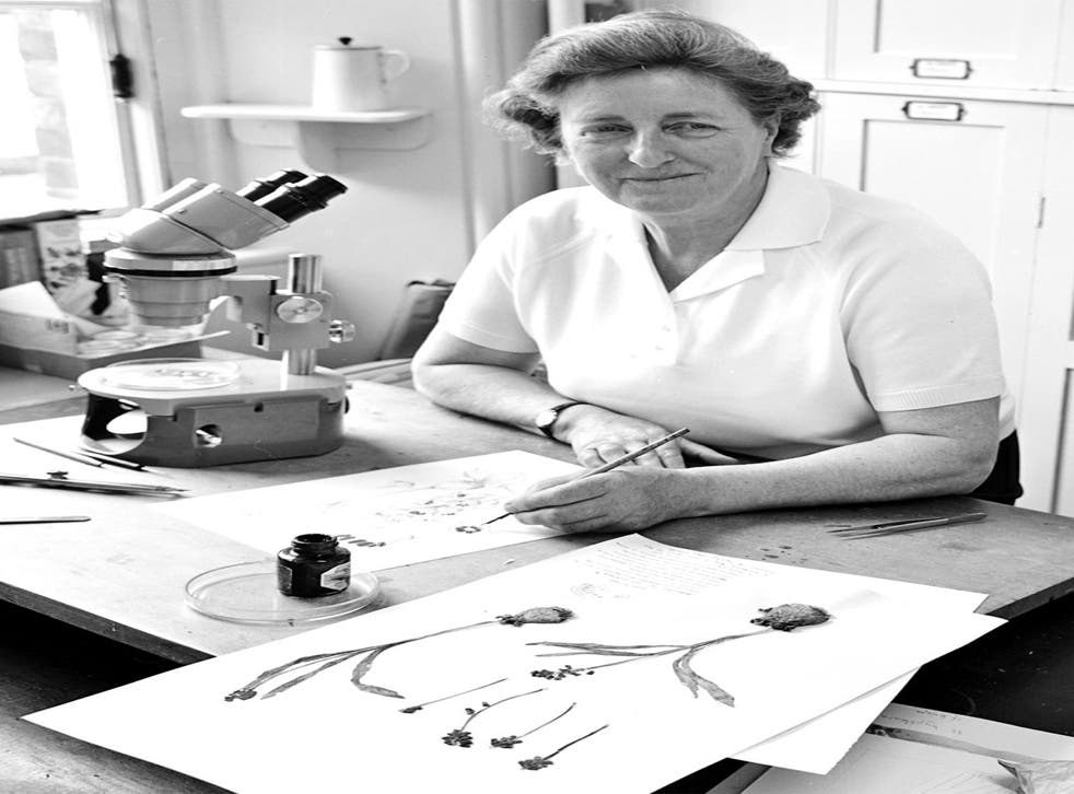 Botanical expertise: Mary Grierson