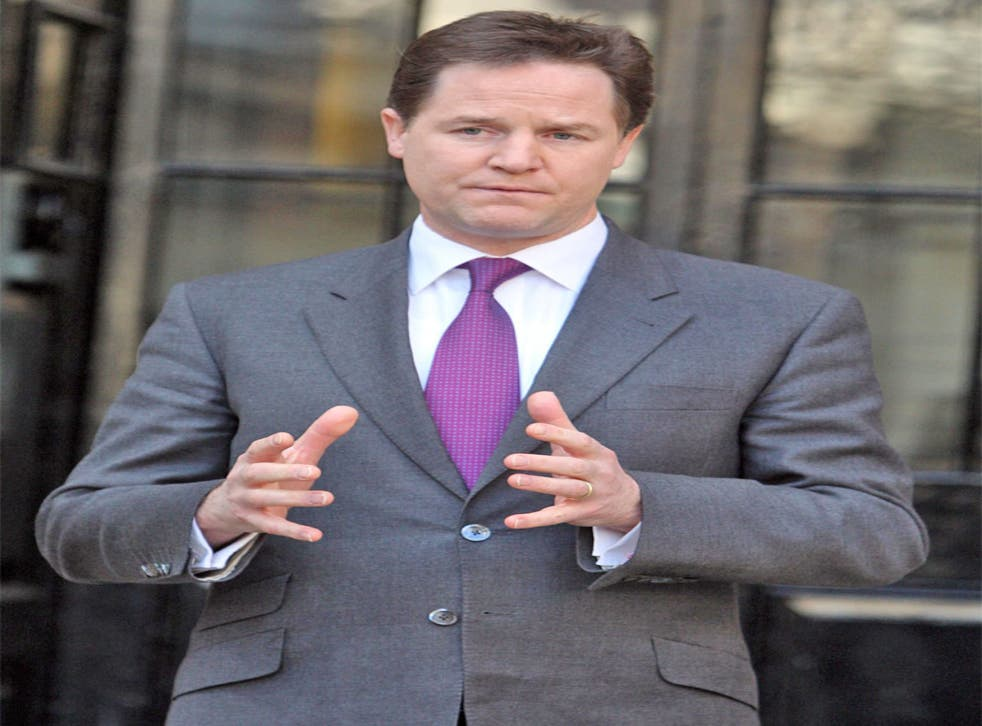 The Deputy Prime Minister had hoped to allay fears of a 'back-door privatisation'