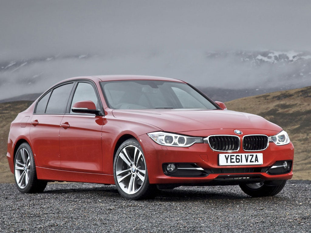 First Drive BMW 320d | The Independent