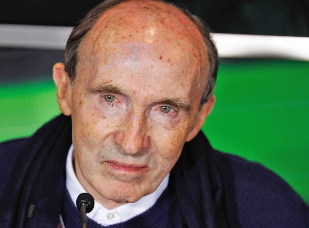 Sir Frank Williams fundó al equipo en 1977 y ganó 16 campeonatos de la F1