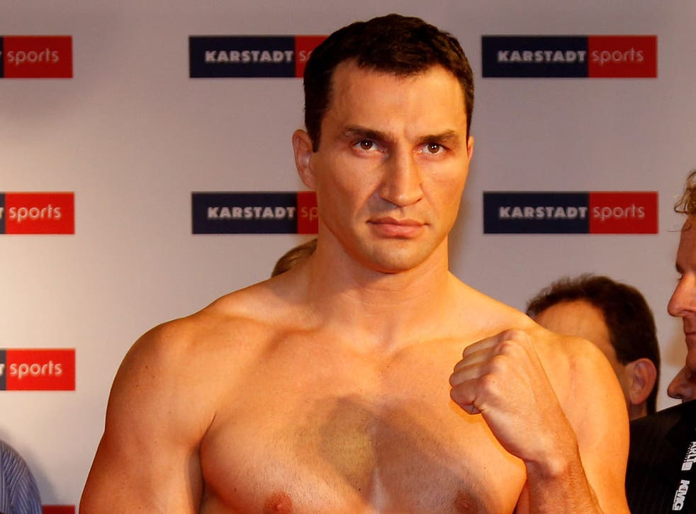Wladimir Klitschko who will be aiming for his 50th career knockout
