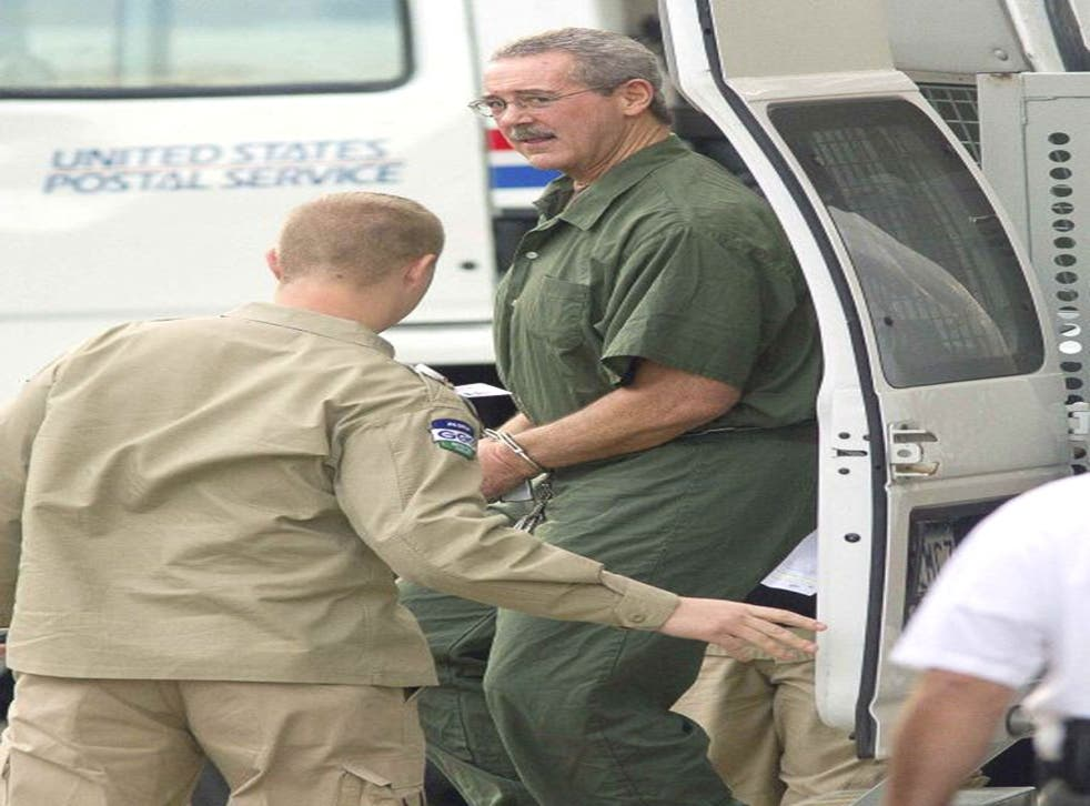 Allen Stanford outside the court in Houston, Texas, yesterday