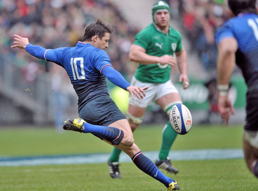 Francois Trinh-Duc, along with Morgan Parra, paid the price for an erratic display at home to Ireland