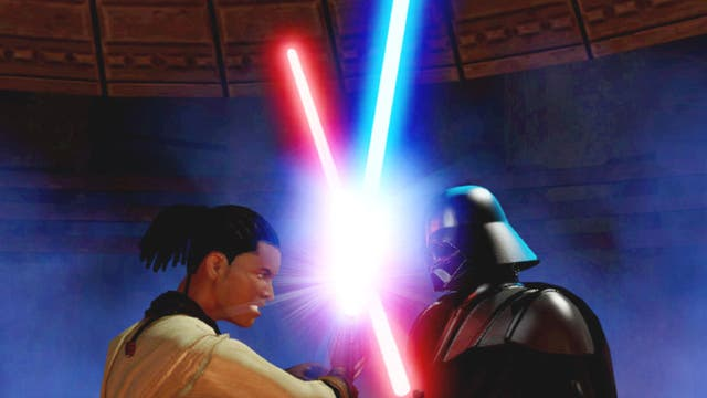 1. Kinect Star Wars   <p>3rd April 2012, £39.99 (Kinect)</p>  <p>Have lightsaber fights, explore locations from the films or take part on pod racing and X-wing battles. Best for early teens</p>
