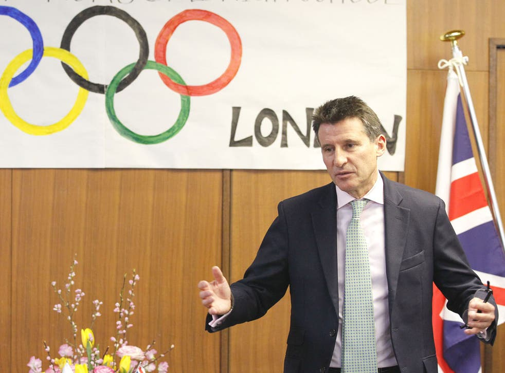 Lord Coe has been accused of the lack of transparency in the London Olympics' ticketing process