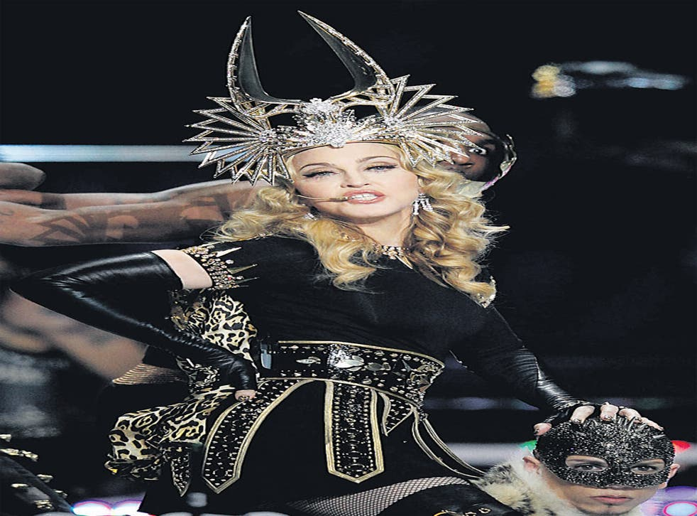 Madonna, performing at the Super Bowl, could see off younger rivals