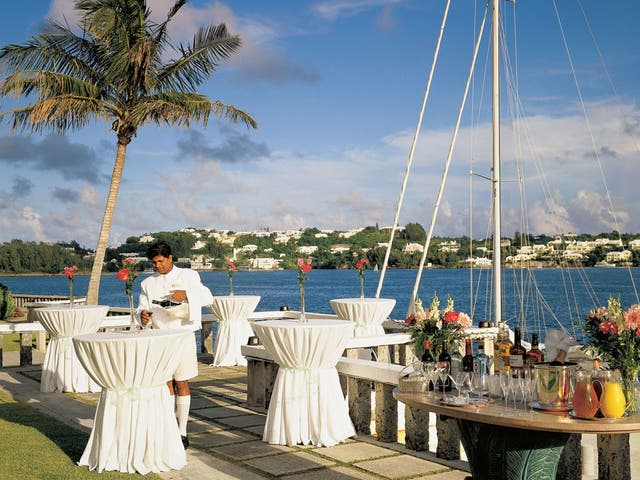 Sea here: The view from the Fairmont Hamilton Princess