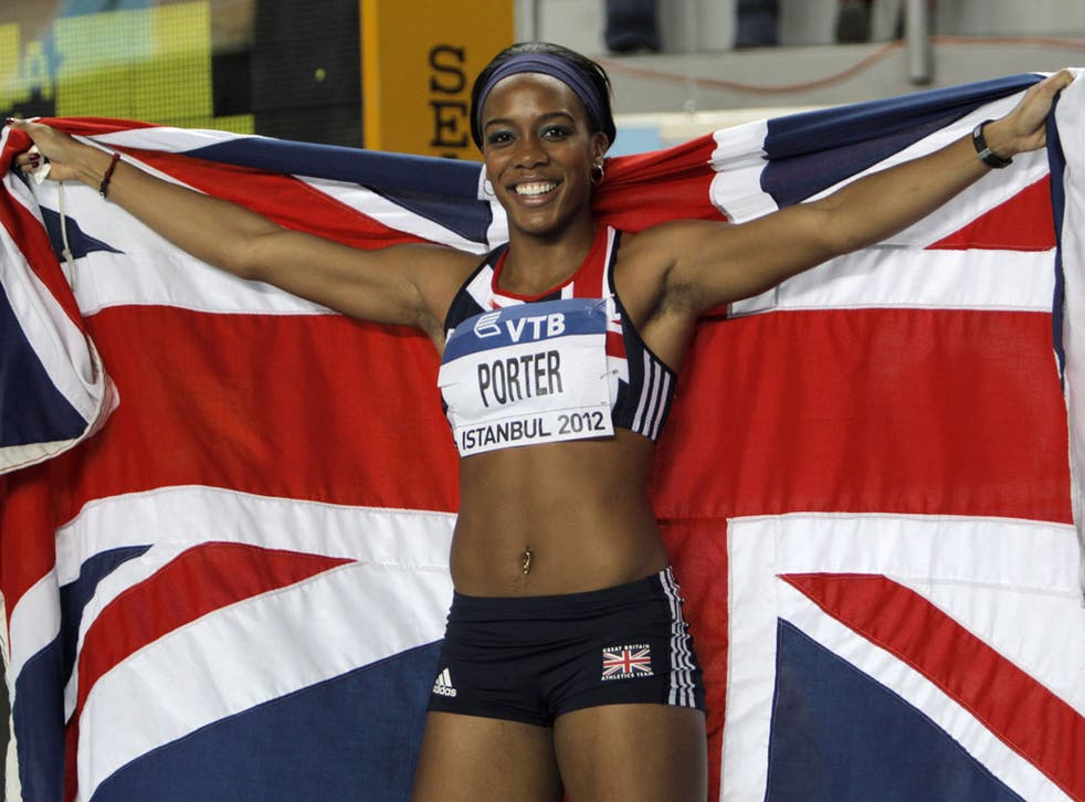 Oh, Mrs Porter: The American-born Tiffany Porter's appointment as British athletics team captain has caused controversy