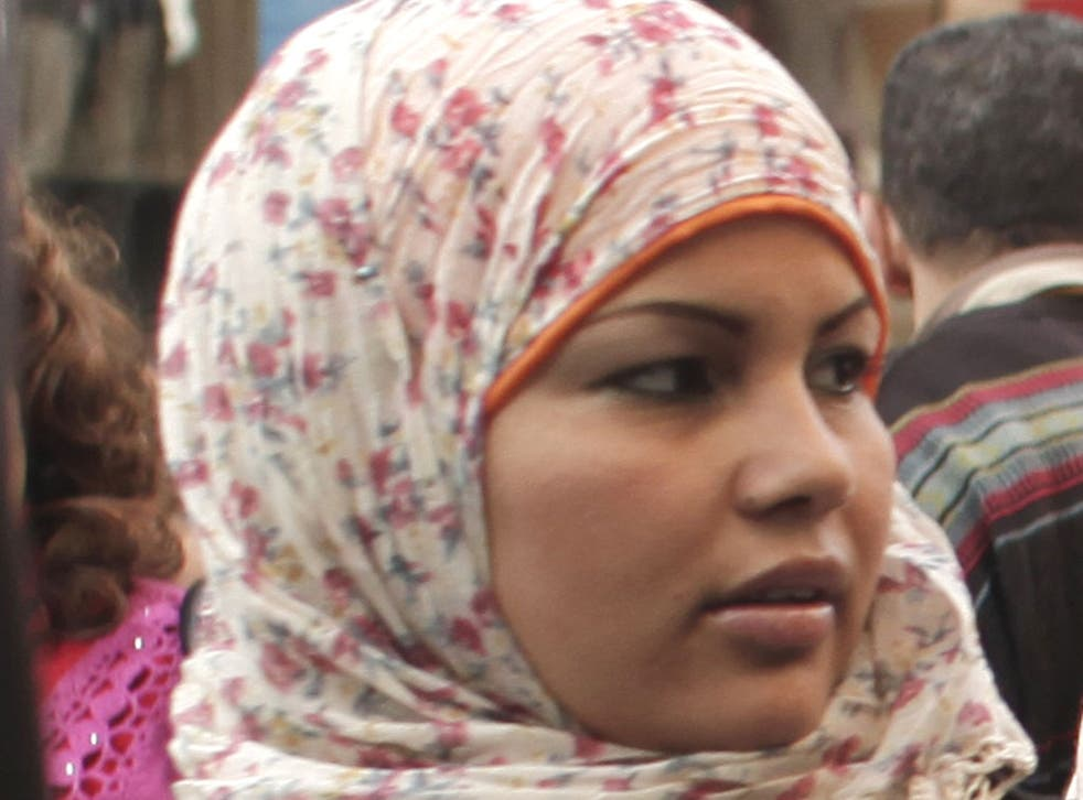 SAMIRA IBRAHIM: After the collapse of her case, the protester took to Twitter and vowed to keep her fight