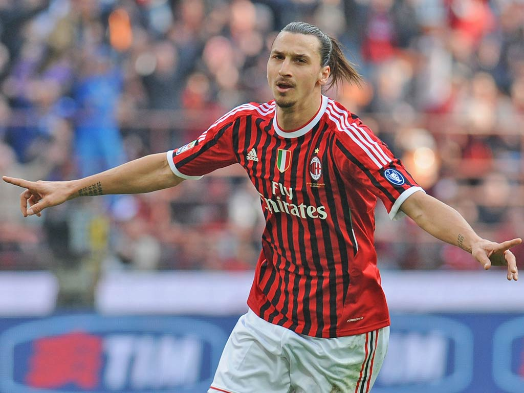Image result for ibrahimovic ac milan