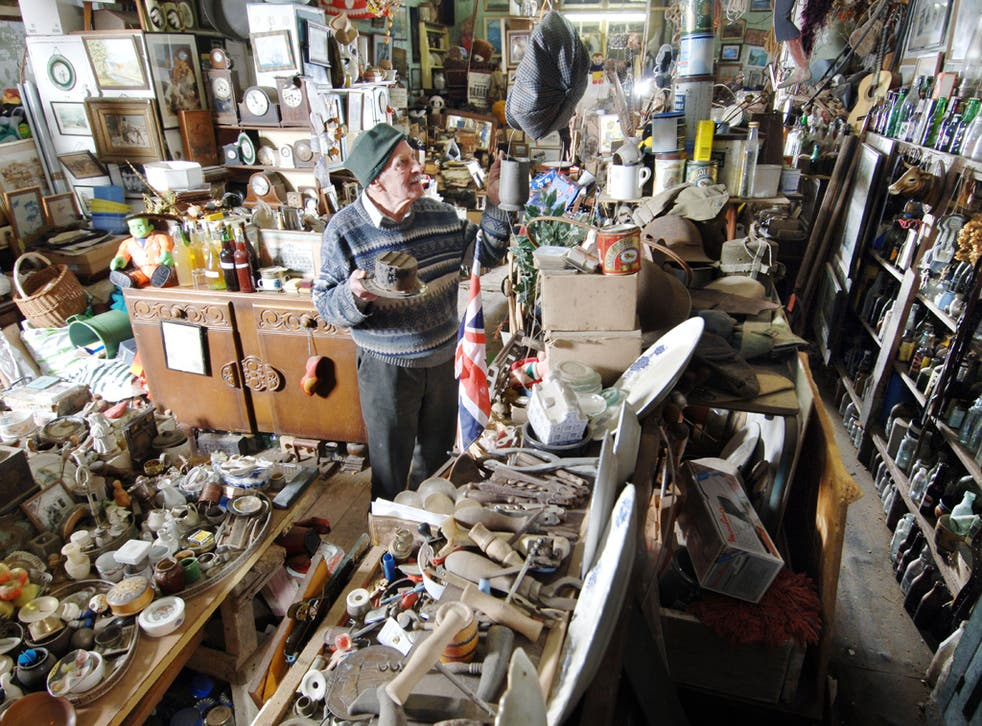 Enough is enough: hoarders often find it impossible to throw anything away