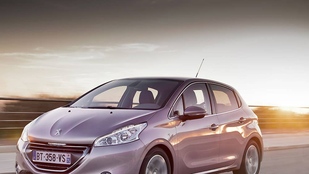 Peugeot 208 First Drive The Independent