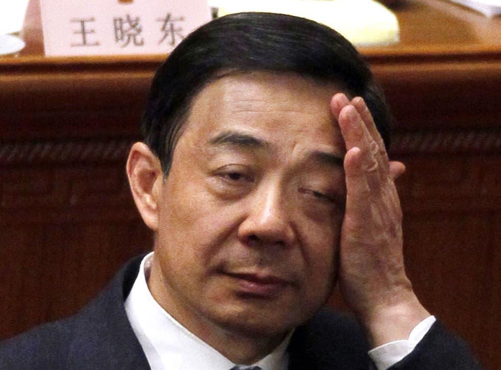 Fall from grace: Bo Xilai
