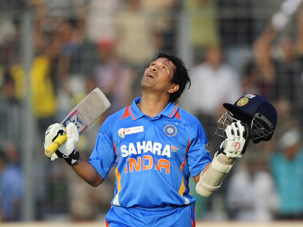 sachin tendulkar: a career in pictures | the independent