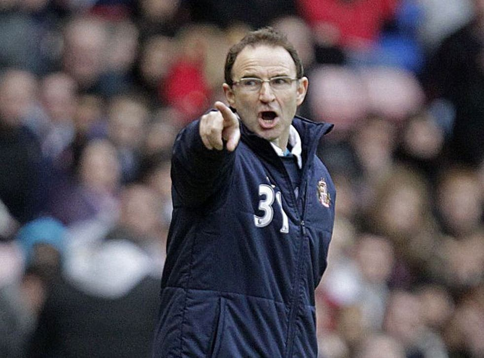 Sunderland's Martin O'Neill urges his players to seize FA Cup chance