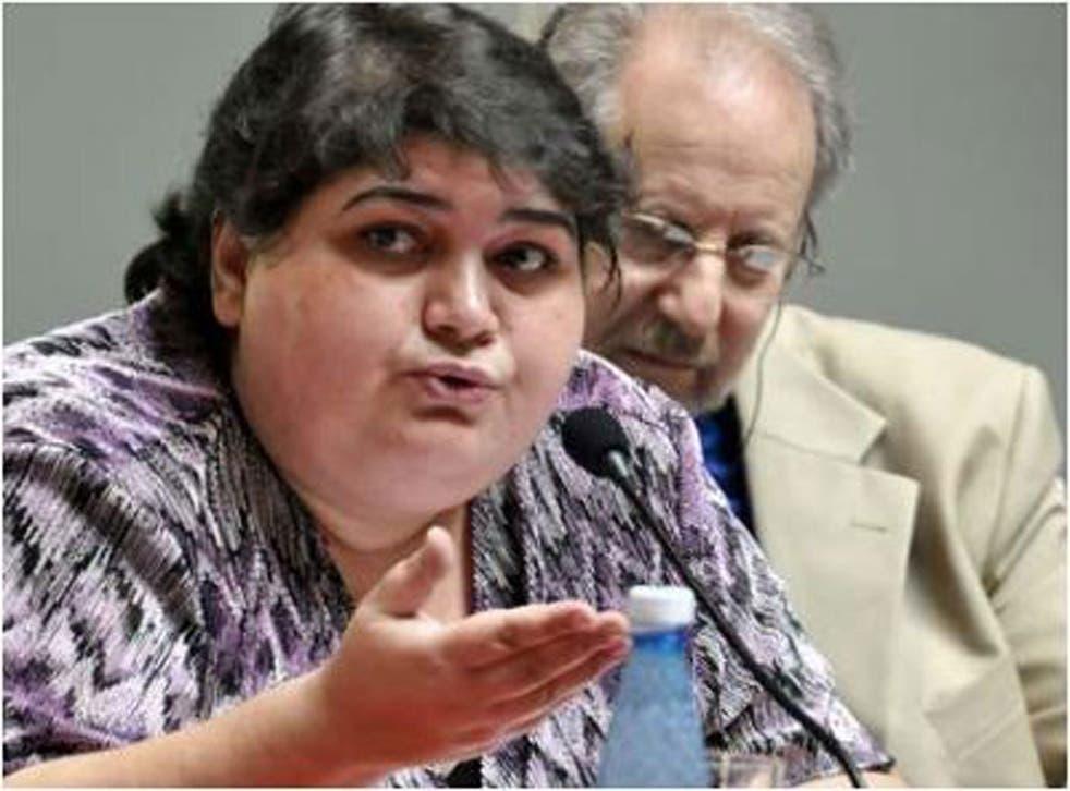 Smeared: Khadija Ismayilova has exposed corruption in Azerbaijan