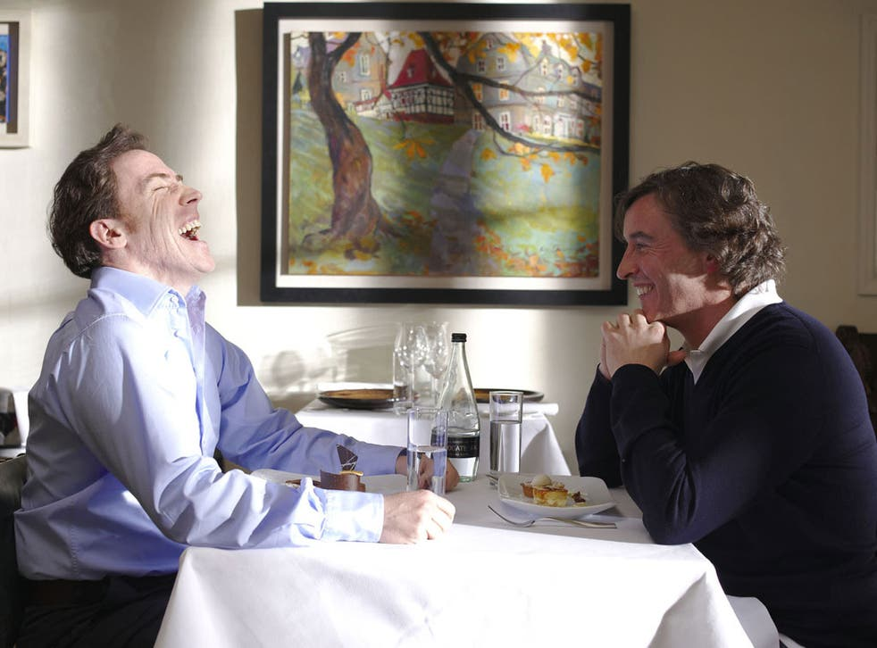 Best Friends: Rob Brydon and Steve Coogan exchange confidences and laughter in The Trip, and we love to listen in