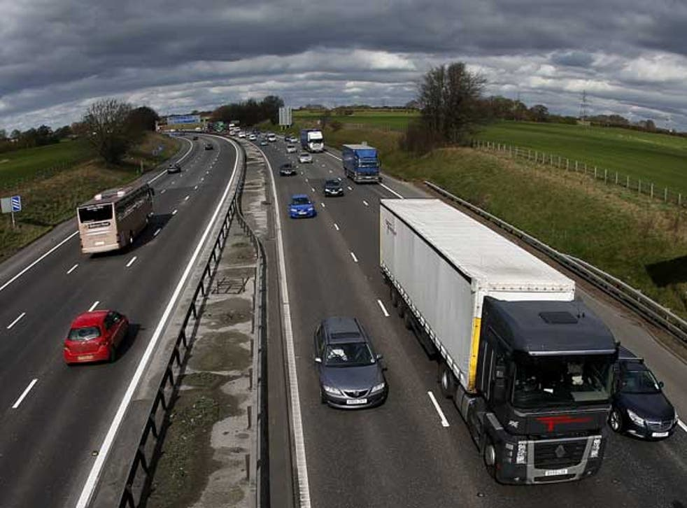 <p>The M6 toll road is a rare example, but motorists have proved resistant&nbsp;</p>