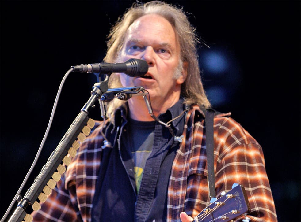 Neil Young has announced plans for his new streaming service