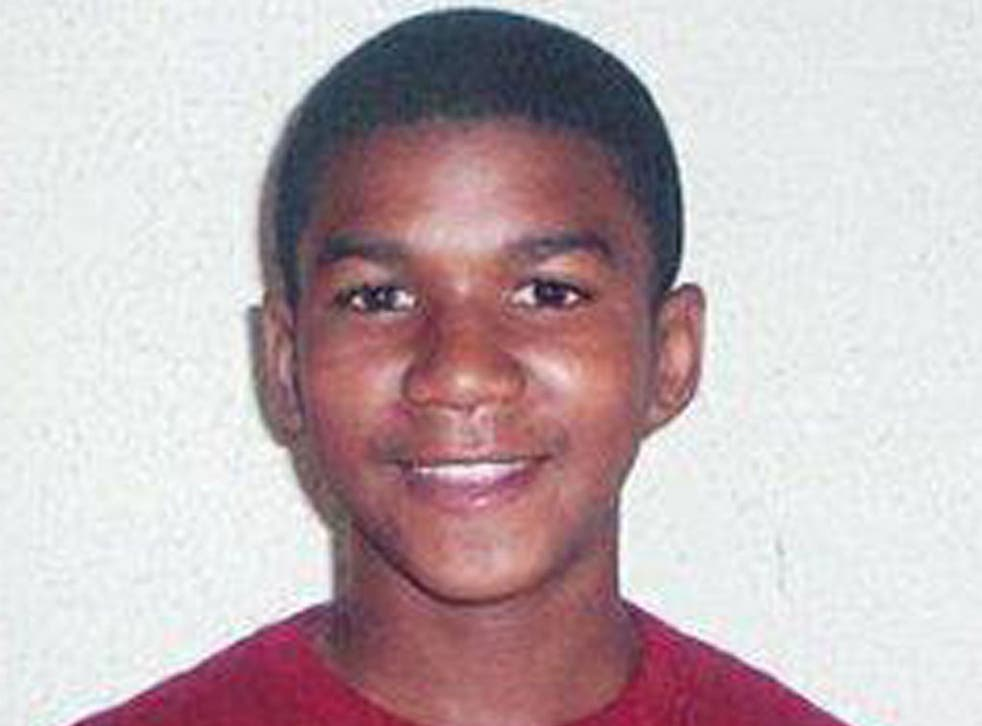 Trayvon Martin was shot dead as he returned from buying sweets for his brother