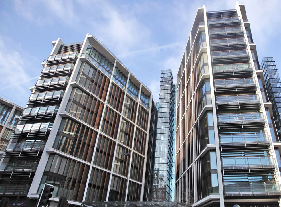 One Hyde Park, the world's most expensive residential block