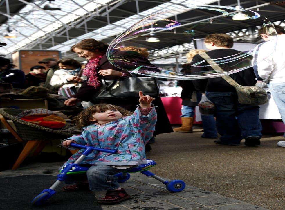 Pointers to metropolitan diversity: Spitalfields Market