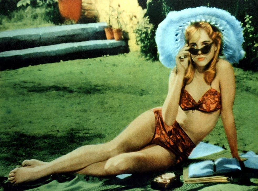 Golden girl: Sue Lyon as Lolita in Stanley Kubrick's 1962 film