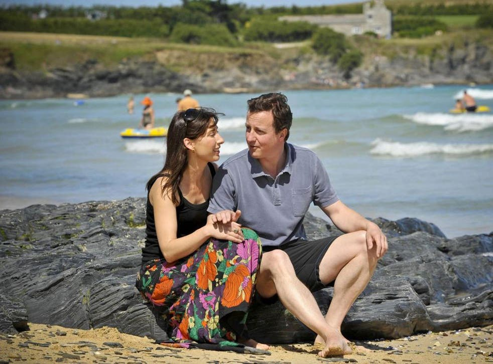 Turning tide? The Camerons are among Boden's keenest customers