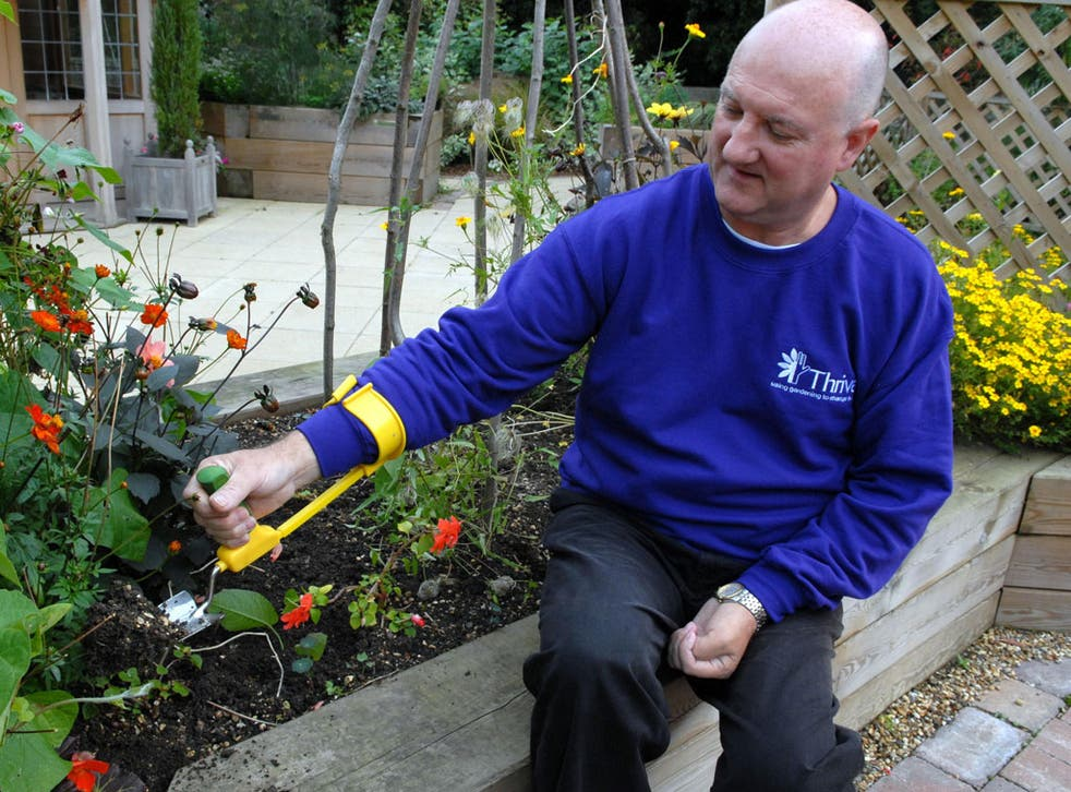 Ian Rickman says gardening 'helped me learn to live again' after a stroke left him paralysed at age 40