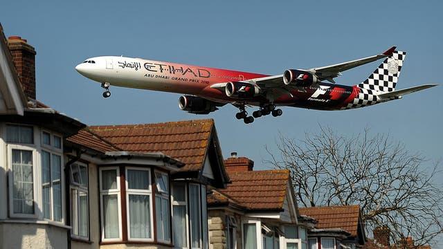 Heathrow's flight path