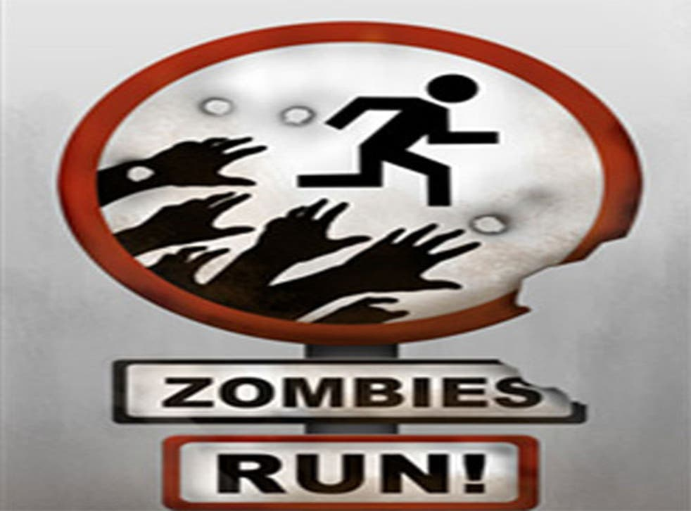 Get fit by running scared in Zombies, Run!