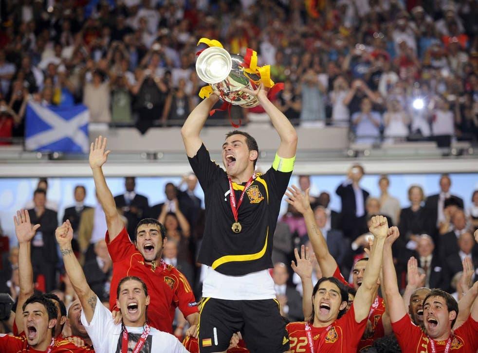 Spain won Euro 2008