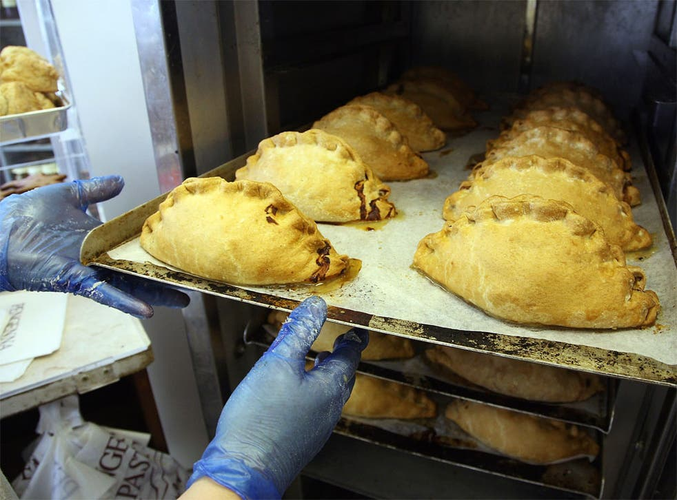 Some like it hot: The Cornish pasty, cornerstone of the British politician's diet
