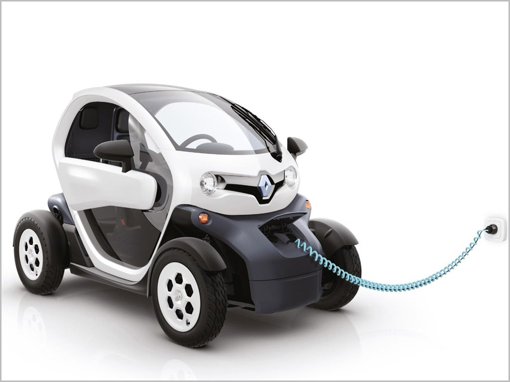 renault twizy in the uk from 13 april the independent. Black Bedroom Furniture Sets. Home Design Ideas