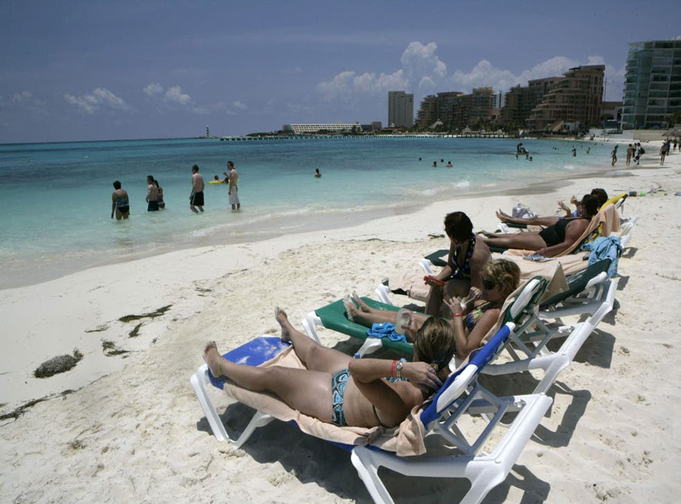 Sun screen: US authorities now vet travel from the UK to Mexico