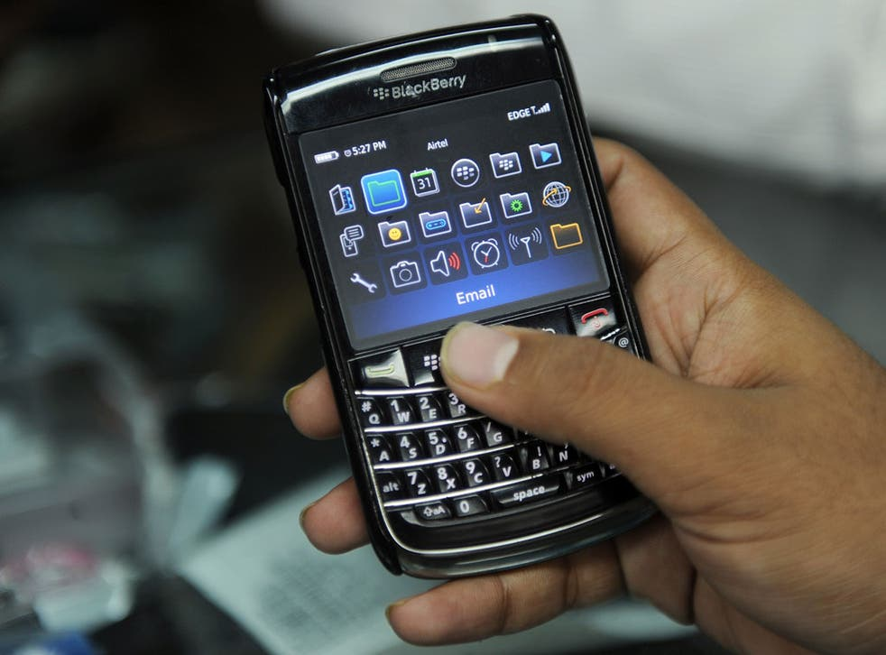 Blackberry have found it increasingly difficult to compete in the mobile phone market with more fashionable Apple and Android phones
