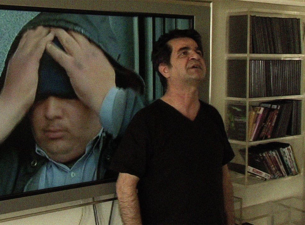 Janar Panahi in <i>This Is Not a Film</i>, his response to an Iranian court's 20-year ban on him doing his job