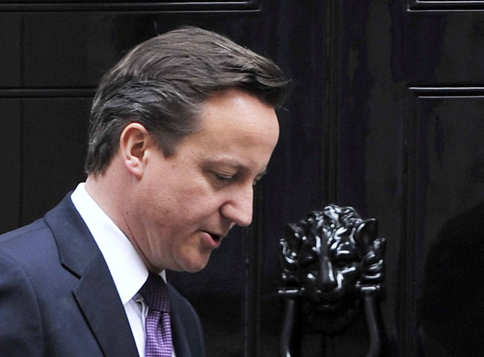 David Cameron struggling to get back on to the front foot after the worst week of his premiership
