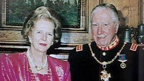 Margaret Thatcher with Chilean dictator, General Augusto Pinochet