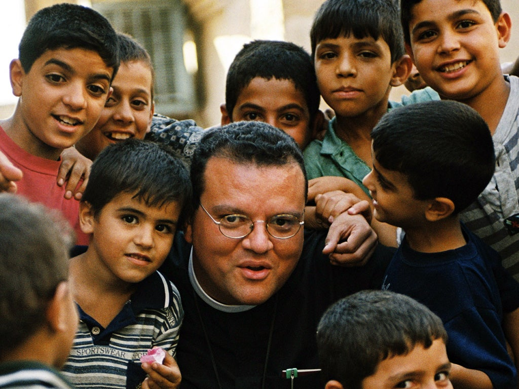 British 'Vicar of Baghdad' claims Isis beheaded four children for refusing to convert to Islam