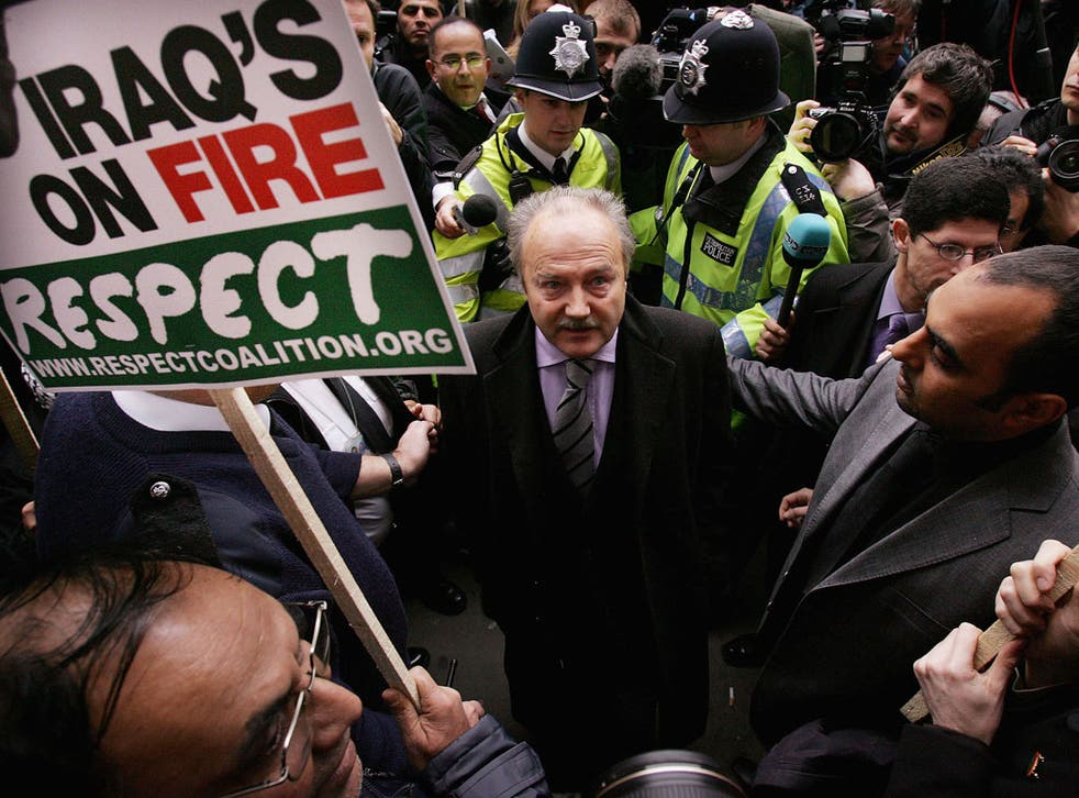 George Galloway is treated as eccentric or a rogue but was a lone voice against devastating Iraqi sanctions